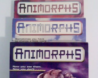 Books- Animorphs, Set of 3