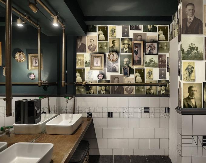 Vintage photos, family portrait, wallpaper, instant ancestor, Vintage wall art, vintage photo frame, vintage wallpaper, vintage pic, vintage