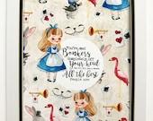 Alice In Wonderland Quote...