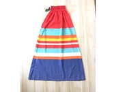 Vintage Colorblock Maxi S...