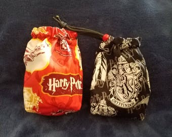 Harry Potter Drawstring Bag (Dice Bag, Jewelry, Sunglasses, Change, etc)