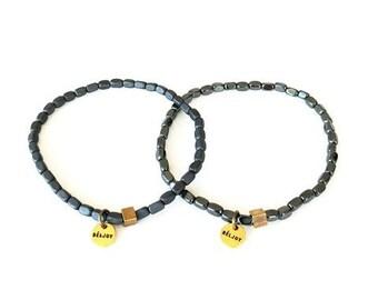 Bisel Bracelet || Choose Color