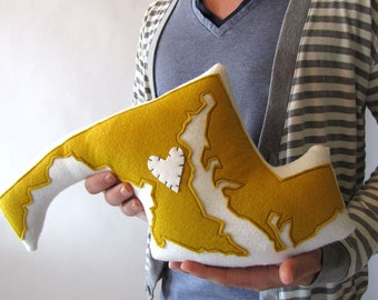 Customizable Wool Felt Maryland