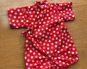 Baby rompers kimono , baby kimono , baby jinbei