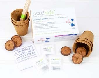 Seedkids* Grow Your Own Wildflower Garden / Seed Kit