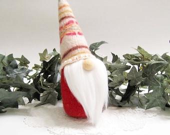 Fairy Garden Gnome Woodland Gnomes Forest Gnome Wool Felt Gnome Christmas Gnome Danish Home Hygge Decor Nordic Gnomes 258
