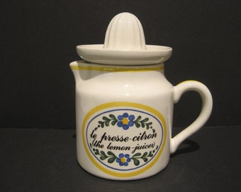 La Lecon de Francais by Marsten Madrajji for Sigma The Tastesetter Lemon Juicer