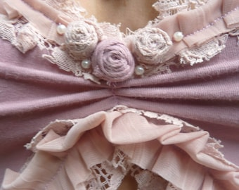 Top light Pink Romantic