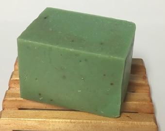 Sweet Grass Handmade Vegan Friendly Shea Butter Cold Processed Soap