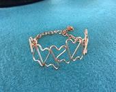 copper wire bracelet, cop...