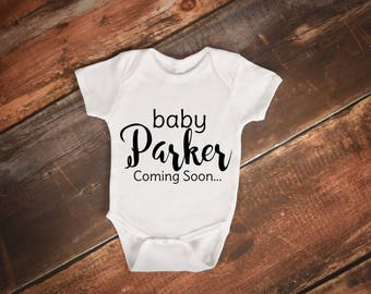 Baby, Pregnancy, Announcement, Gerber ONESIES®, Husband, Grandparents, Reveal, Aunt, Keepsake, Parents, Ideas, Grandma, Grandpa