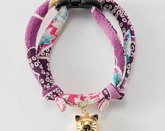 From Japan Cat Collar Charm with Bell Nekoichi