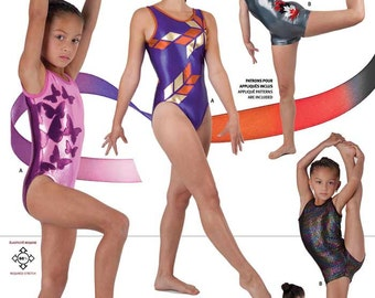 Jalie Tank Leotard & Biketard Sewing Pattern #3138 in 22 Sizes Misses and Girls
