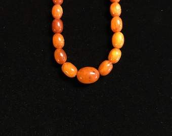 Victorian Amber Necklace