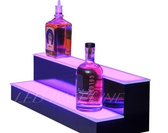 "2 Step 34"" Lighted Bar Shelf home or Bar"