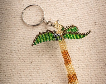 Palm Tree Keychain