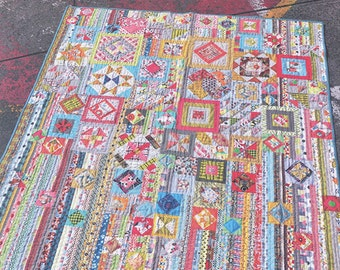 Gypsy Wife By Jen Kingwell Modern Quilt Pattern Project 59 x 68