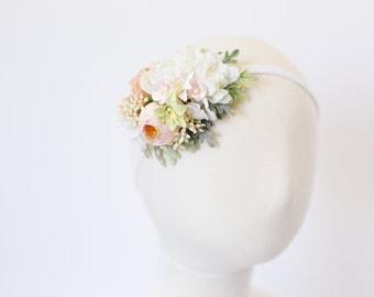 baby flower headband, flower crown headband, flower headband baby, toddler floral headband, flower crown baby, baby flower crown, photo prop