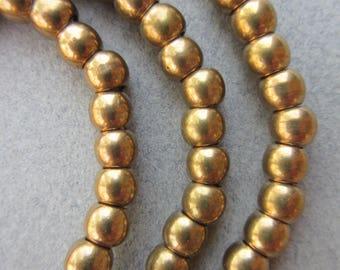 Fancy Brass Spacer Beads