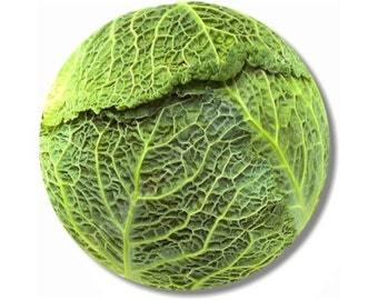 Cabbage Round Mousepad
