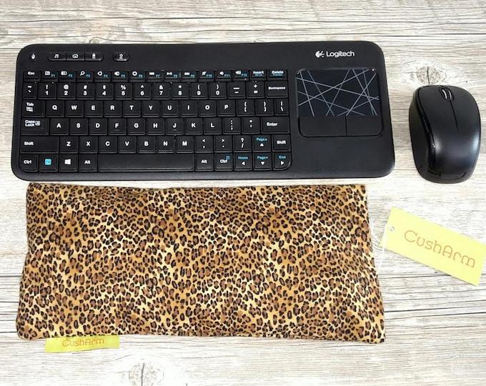 Leopard Print Computer Laptop Arm Wrist Elbow Support