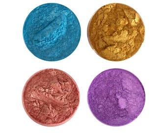 Pearlescent/ Metallic Pigments For Slime