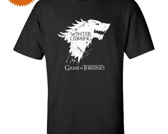 Game of Thrones T shirt Winter is Coming Inspired