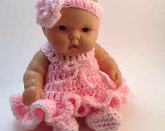 10 Inch Doll clothes,8 inch doll clothes,Dress Set ,Color choice available,Clothes for small Dolls,