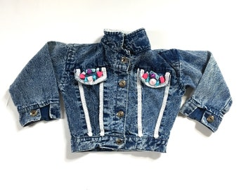 90s Acid Wash Denim jacket