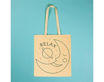 Relax Black moon - Totebag