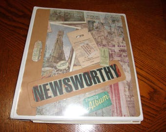 Newsworthy Upscycled Photo Album