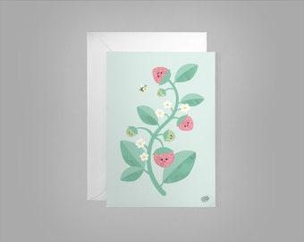 Summerberries - Greeting Card