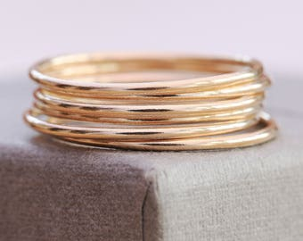 One 14K Gold Filled Ring|Gold Filled Ring|Thin Gold Ring|Gold Ring|Minimalist Ring|Gold Minimalist Ring|Gold Stacking Ring|Gold Midi Ring