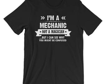 Funny Mechanic Shirt, Mechanic Shirts, Im a Mechanic Shirt, Mechanic Shirt Funny, Mechanic Gifts, Car Mechanic Gift