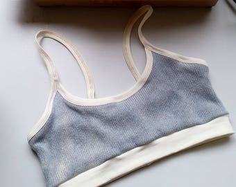 Balance Hemp sweater bralette