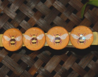 Bumble Bee Barrette