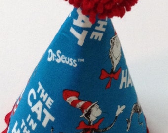 Dr. Seuss birthday hat