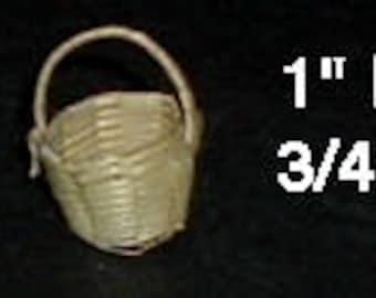 "Miniature BASKET - 1"" H X 3/4"" W"