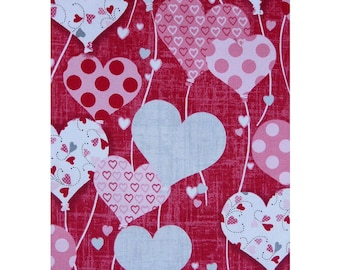 Dear Heart Valentine Cotton Fabric By Studio E