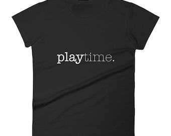 Play Time (W&B) (Shirt)