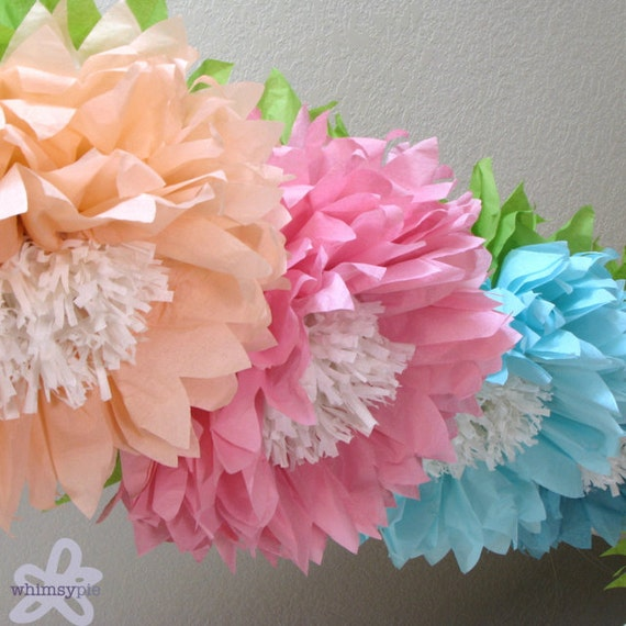Oopsy daisy 5 giant hanging paper flowers cake smash baby 5 giant hanging paper flowers cake smash baby mightylinksfo