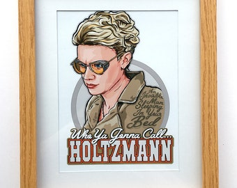 Who Ya Gonna Call.... Holtzmann Framed Art Print