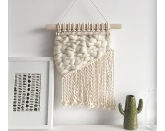 Macrame Wall Hanging | Weaving | Woven Wall Hanging |Modern Marcrame | Tapestry