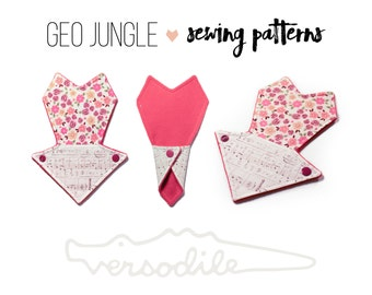 "Cloth Pad Sewing Pattern | 7"" Thong Liner 