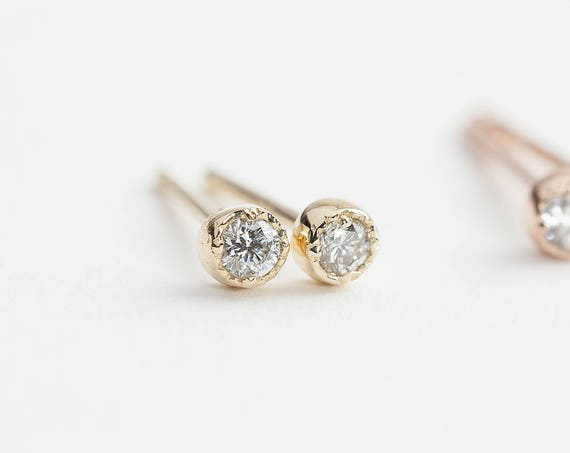 rose il diamond listing stud white like gold earrings item this