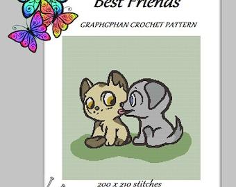 Best Friends - Graphghan Crochet Pattern