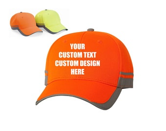 Custom Reflective Caps for Adult.