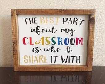 Best part if my classroom