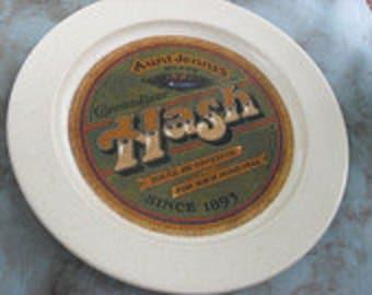 Vintage Aunt Jenny's Hash Plate circa 1948