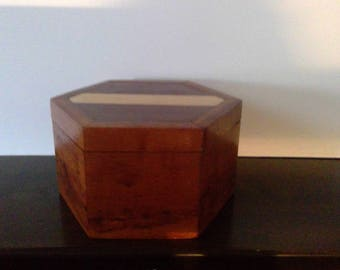 Cocobolo wood box